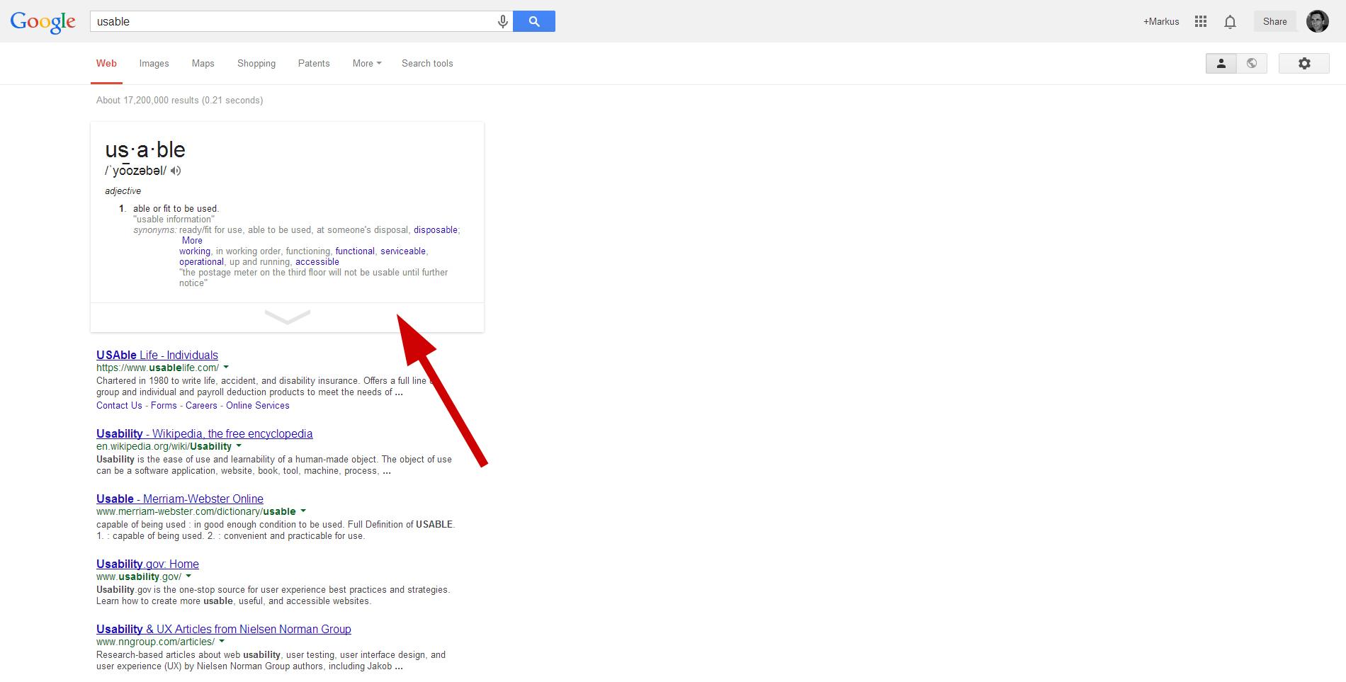 Screen Term search
