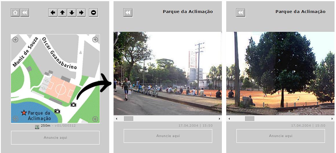 concept mini-map streetview