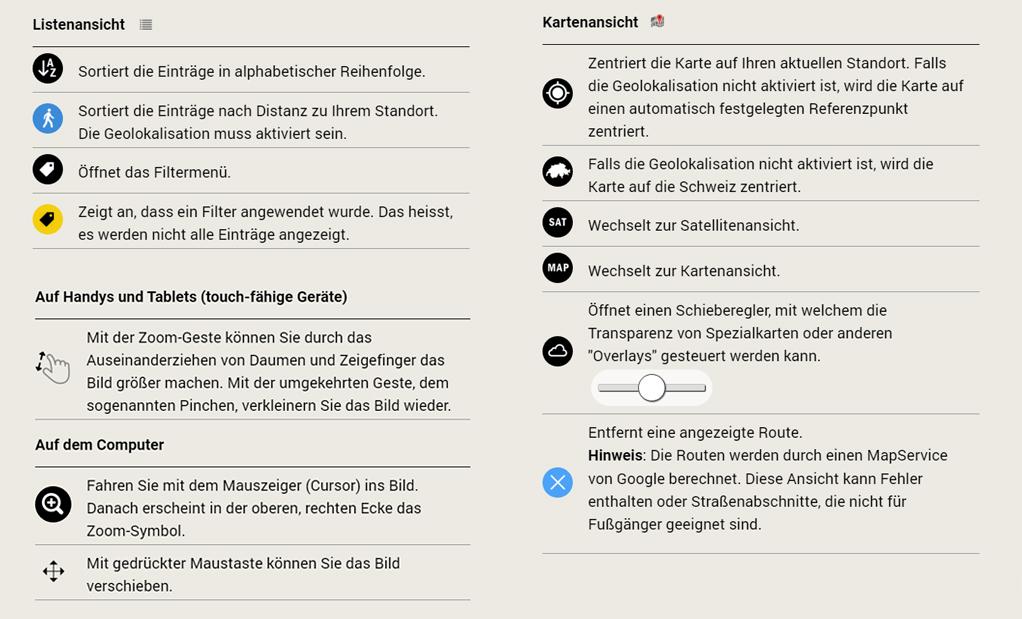 POI's Web App - Helppage