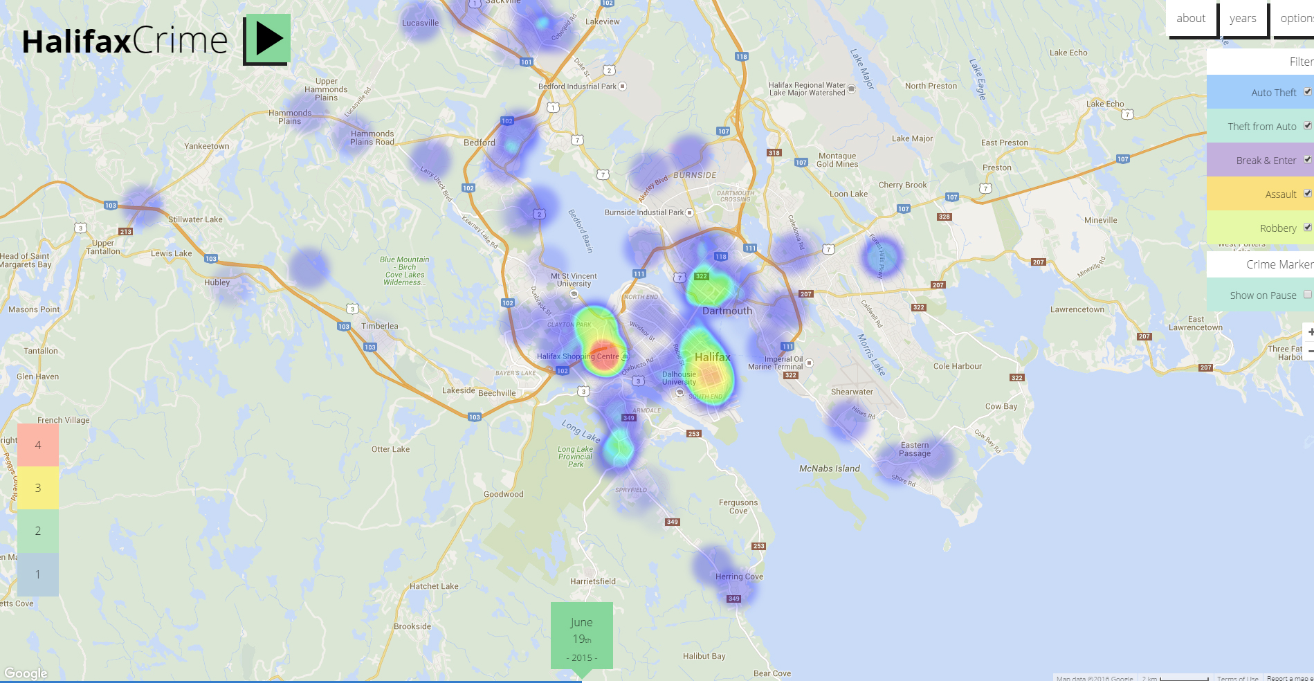 Halifax Crime