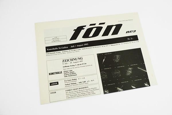 Markus Steiger Project 00866 Fön: Schriftzug und grafische Beratung Layout