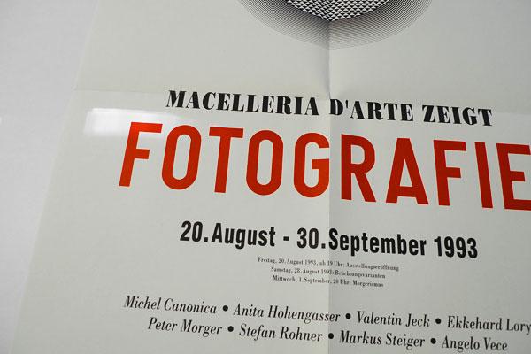 Markus Steiger Project 00948 Plakat Fotografie Macelleria d Arte