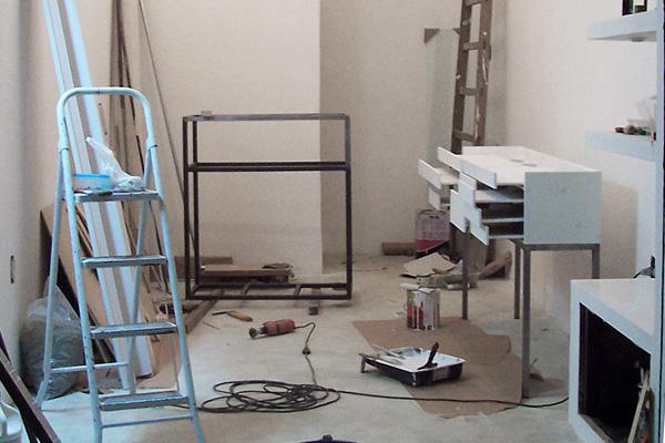 Markus Steiger Project 01686 Ladenumbau und Produktion der Möbel für Boutique Vícios & Pecados