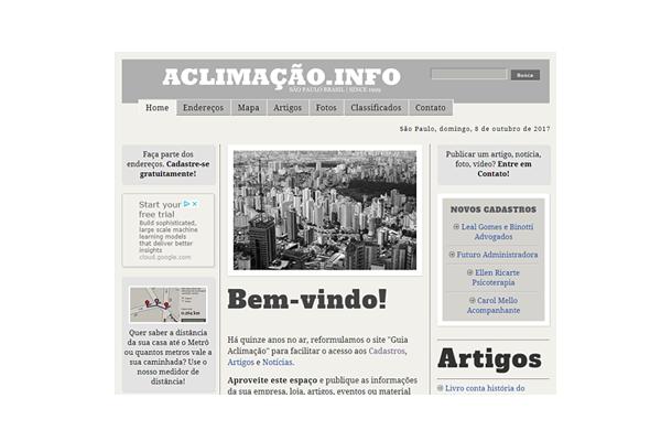 Markus Steiger Project 01768 Website aclimação.info