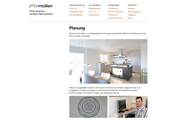 Markus Steiger Project 02311 Job Müller AG Küchenbau