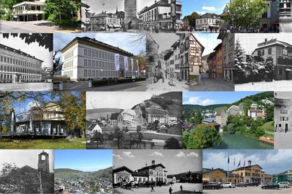 Markus Steiger Project 02735 Baden Gestern und Heute