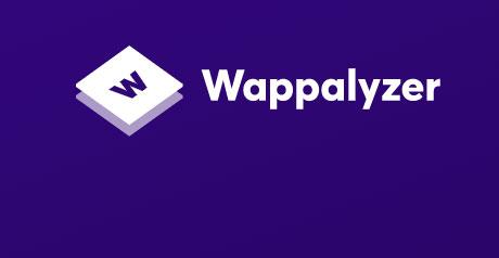 Screenshot Site Wappalyzer