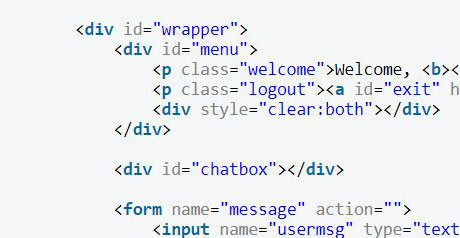 Screenshot Site How to Create a Simple Web–Based Chat Application