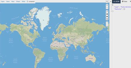 Screenshot Site GeoJSON