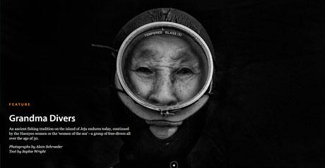 Screenshot Site Grandma Divers