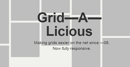 Screenshot Site Grid—A—Licious
