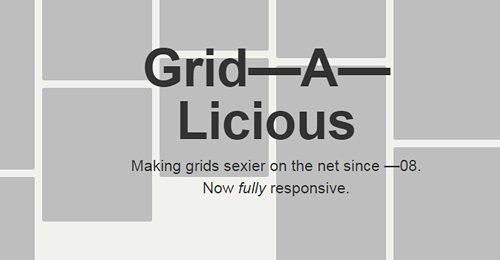 Screenshot Site Grid—A—Licious