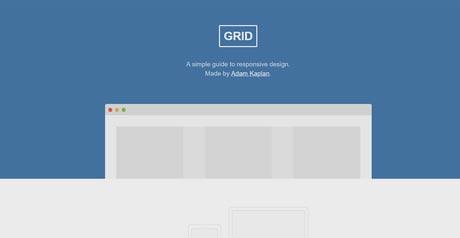 Screenshot Site Grid
