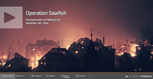 Screenshot Site Operation Sawfish - Der Luftangriff auf Heilbronn