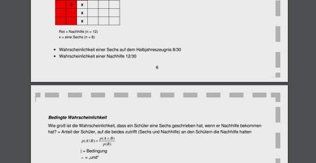 Screenshot Site Grundlagen der Inferenzstatistik: Was Ihnen nicht erspart bleibt!