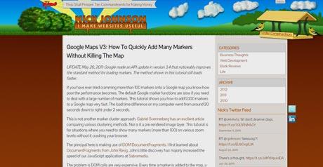 Screenshot Site Overlay Example