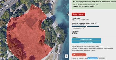 Screenshot Site MapChecking