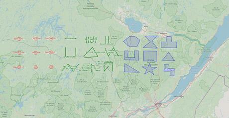 Screenshot Site Using OpenLayers API/OpenStreetMaps