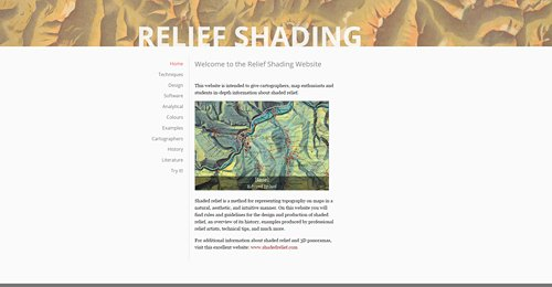 Screenshot Site Relief Shading