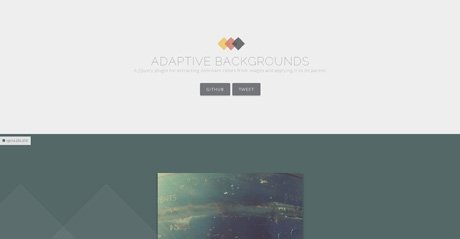 Screenshot Site ADAPTIVE BACKGROUNDS