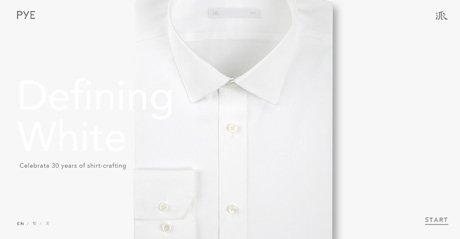 Screenshot Site Defining White