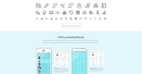 Screenshot Site Streamline Icons