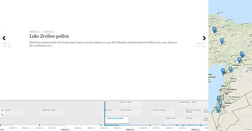 Screenshot Site TimeMapper