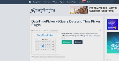 Screenshot Site DateTimePicker