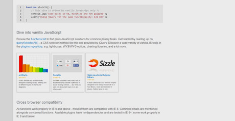 Screenshot Site Vanilla JavaScript